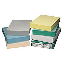 Wausau; Exact; Vellum Bristol Cover Stock, 8 1/2 inch; x 11 inch;, 67 Lb., Gray, Pack Of 250 Sheets