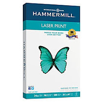 Hammermill; Laser Paper, Legal Size, 24 Lb, Pack Of 500 Sheets