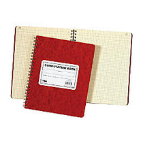 TOPS™ Computation Notebook, 9 1/2 inch; x 11 3/4 inch;, Quad Ruled, 152 Pages