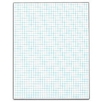 TOPS™ Quadrille Pad With Heavyweight Paper, 4 x 4 Squares/Inch, 50 Sheets, White