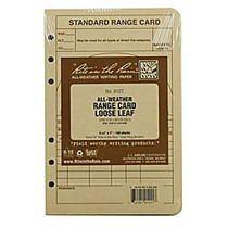 Rite in the Rain; Tactical Loose Leaf Sheets, 4 5/8 inch; x 7 inch;, Tan, Pack Of 100