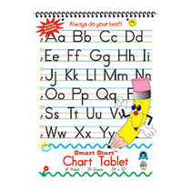 Teacher Created Resources; Smart Start Handwriting Series Chart Tablet, 24 inch; x 32 inch;, 25 Sheets (50 pages)