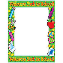 Scholastic Printer Paper — Welcome Back To School, Pack Of 50 Sheets