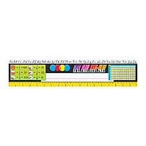 TREND Desk Toppers; Reference Name Plates, Modern, 4 3/4 inch; x 18 inch;, Grades 3-5, 36 Plates Per Pack, Set Of 3 Packs