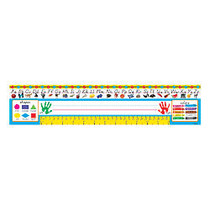 TREND Desk Toppers; Reference Name Plates, Modern, 4 3/4 inch; x 18 inch;, Grades Pre-K-1, 36 Plates Per Pack, Set Of 3 Packs