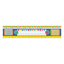 TREND Desk Toppers; Reference Name Plates, Zaner-Bloser, 3 3/4 inch; x 18 inch;, Grades 2-3, 36 Plates Per Pack, Set Of 3 Packs