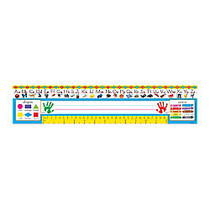 TREND Desk Toppers; Reference Name Plates, Zaner-Bloser, 3 3/4 inch; x 18 inch;, Grades Pre-K-1, 36 Plates Per Pack, Set Of 3 Packs