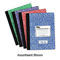 TOPS; Composition Book, 7 1/2 inch; x 9 3/4 inch;, 100 Sheets