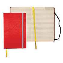 TOPS; Idea Collective Hardbound Journal, 8 1/4 inch; x 5 inch;, Red, 240 Sheets