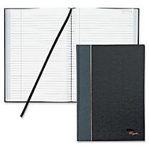 TOPS; Royale Casebound Notebook, 8 1/4 inch; x 11 3/4 inch;, Legal Ruled, 96 Sheets, Gray