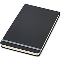 TOPS™ Idea Collective; Top-Bound Wide-Ruled Journal, 5 inch; x 8-1/4 inch;, 120 Sheets, Black