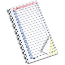 Tops Things To Do Pad - Spiral Bound - 2 Part - Carbonless Copy - 11 inch; x 5.50 inch; Sheet Size - 1 Pad