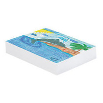 Pacon; Plain White Newsprint Paper, 12 inch; x 18 inch;, Pack Of 500 Sheets
