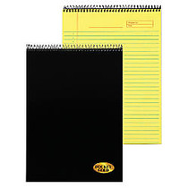 TOPS™ Docket; Gold Wirebound Writing Tablet, 8 1/2 inch; x 11 inch;, 70 Sheets, Canary