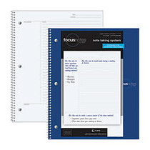 TOPS™ FocusNotes Notebook, 9 inch; x 11 inch;, 100 Sheets