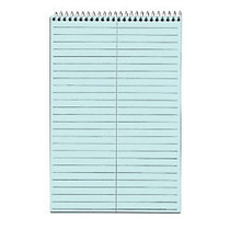 TOPS™ Prism+ Color 30% Recycled Steno Books, 6 inch; x 9 inch;, Gregg Ruled, 80 Sheets, Blue, Pack Of 4