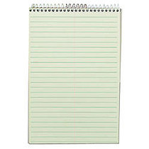 TOPS™ Steno Book, 6 inch; x 9 inch;, Gregg Ruled, 80 Sheets, Green