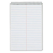 TOPS™ Steno Books, 6 inch; x 9 inch;, Gregg Ruled, 70 Sheets, White, Pack Of 12