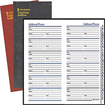AT-A-GLANCE; Telephone/Address Book, 3 1/8 inch; x 6 inch;, Assorted Colors (No Color Choice)