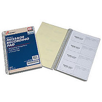 SKILCRAFT; Telephone Message Pads, Book Of 400 Sets (AbilityOne 7510-01-357-6830)