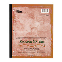 TOPS™ Second Nature; 50% Recycled 15-Lb Writing Pad, 5 inch; x 8 inch;, Legal Ruled, 50 Sheets, White