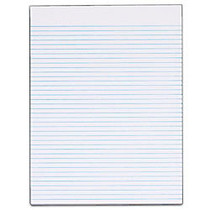TOPS™ The Legal Pad; Glue-Top Writing Pads, 8 1/2 inch; x 11 inch;, Narrow Ruled, 50 Sheets, White, Pack Of 12 Pads