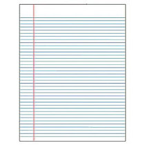 TOPS™ The Legal Pad; Glue-Top Writing Pads, 8 1/2 inch; x 11 inch;, Wide Ruled, 50 Sheets, White, Pack Of 12 Pads