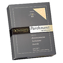 Southworth; Parchment Specialty Paper, 24 Lb., 8 1/2 inch; x 11 inch;, Copper, Pack Of 500