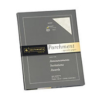 Southworth; Parchment Specialty Paper, 24 Lb., 8 1/2 inch; x 11 inch;, Ivory, Pack Of 100