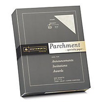 Southworth; Parchment Specialty Paper, 8 1/2 inch; x 11 inch;, 24 Lb., Ivory, Pack Of 500