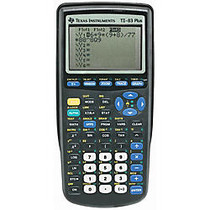 Texas Instruments; TI-83 Plus Graphing Calculator