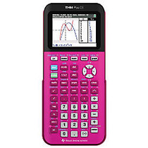 Texas Instruments; TI-84 Plus CE Color Graphing Calculator, Pink, 84 PLUS CE PINK