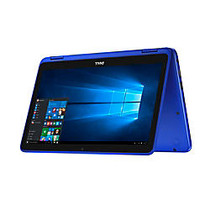 Dell™ Inspiron 11 3000 Series 2-in-1 Laptop, 11.6 inch; Touchscreen, Intel; Pentium;, 4GB Memory, 500GB Hard Drive, Windows; 10 Home