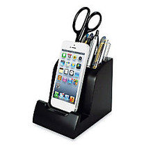 Victor; Smart Charge Lightning Dock With Pencil Cup, Black