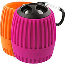 Xtreme Cables Durapod Speaker System - Portable - Battery Rechargeable - Wireless Speaker(s) - Pink, Orange