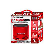 Xtreme Cables Speaker System - Portable - Wireless Speaker(s) - Red