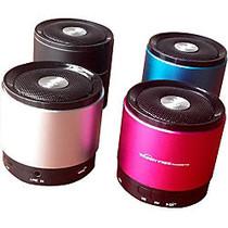 Zeepad Speaker System - Battery Rechargeable - Wireless Speaker(s) - Silver