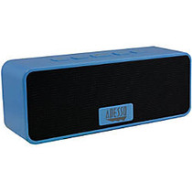 Adesso Xtream S2L Speaker System - Battery Rechargeable - Wireless Speaker(s) - Blue