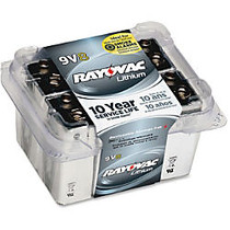 Rayovac R9VL-8 9 Volt Lithium Battery - 9V - Lithium (Li) - 9 V DC - 8 / Pack