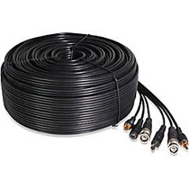 Zmodo 130 ft AWG22 Premade Siamese Video + Power + Audio Cable