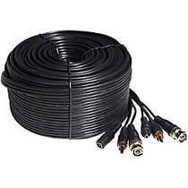 Zmodo 99ft AWG22 Premade Siamese Video + Power + Audio Cable