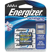 Energizer; e2 Lithium AAA Batteries, Pack Of 4