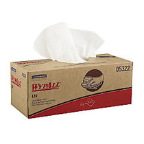 WypAll™ L10 1-Ply Utility Wipes, White, Box Of 125