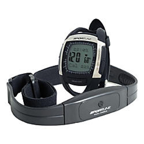 Sportline Men's Cardio 670 Heart Rate Monitor, Black, SP1088BK
