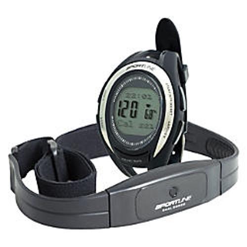 Sportline Women's Cardio 670 Heart Rate Monitor, Black, SP1089BK