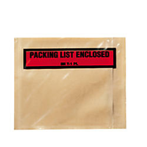 3M™  inch;Packing List Enclosed inch; Envelopes, Top View, Case Of 1,000