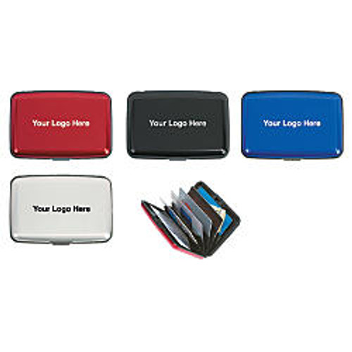 Aluminum RFID Blocking Card Case