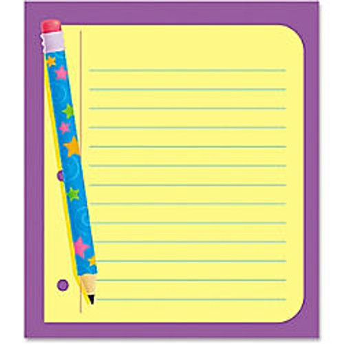 Trend; Note Pad, 5 inch; x 5 inch;, Note Paper, Unruled, 25 Sheets