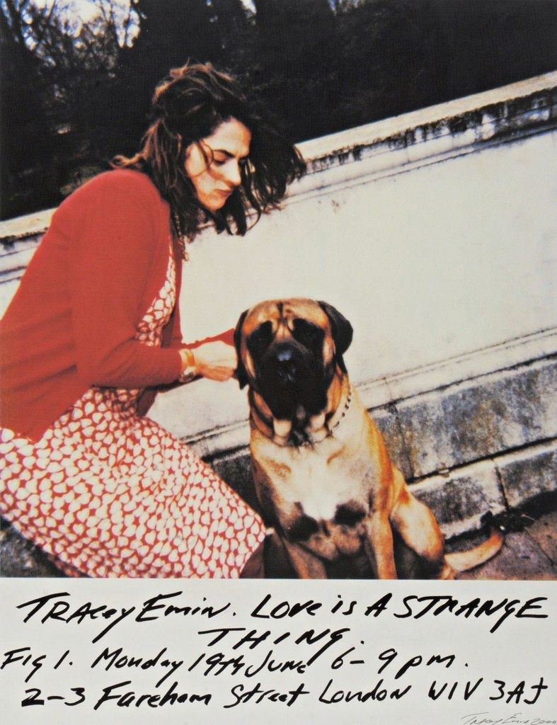 Tracey Emin, Love is a Strange Thing, 2000