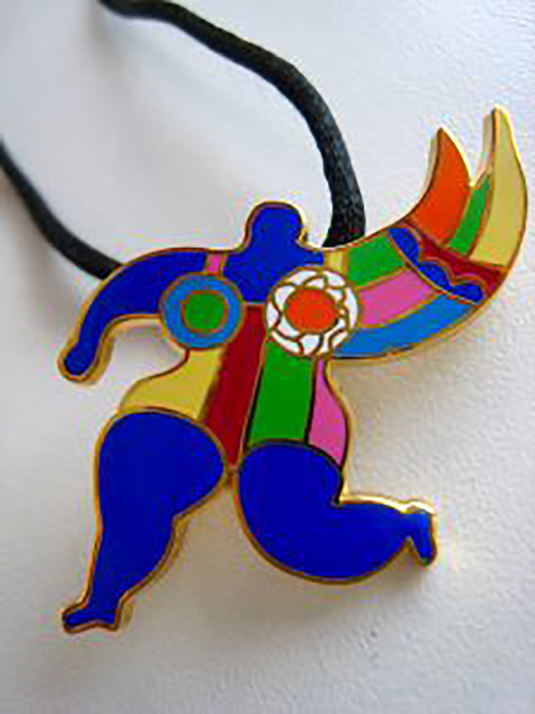 Niki de Saint Phalle, Brooch (NANA)